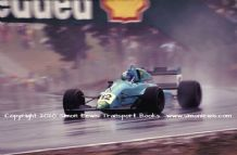 Leyton House March 90B photo  Paul Warwick.  1990 Brands Hatch F3000 (e)